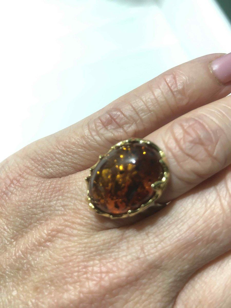 Изысканное, божественно-красивое, янтарное кольцо
