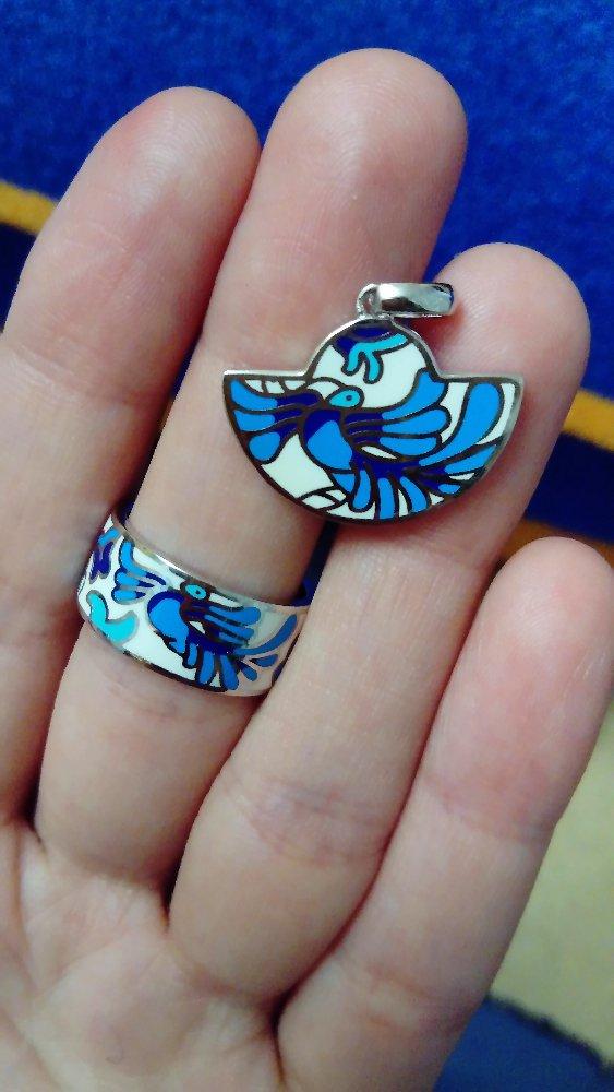 И снова синяя птица!
