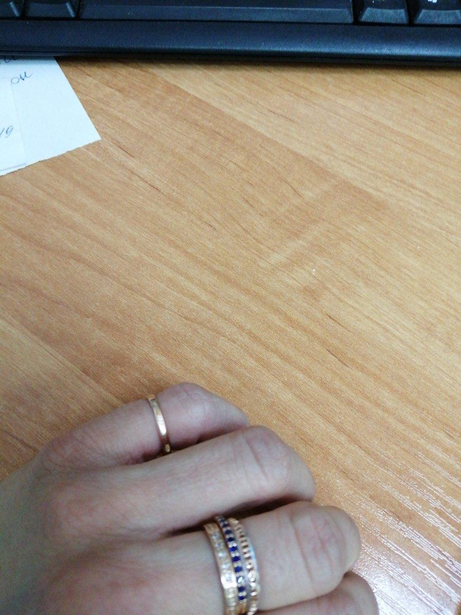 Кольцо с сапфирами синтетическими