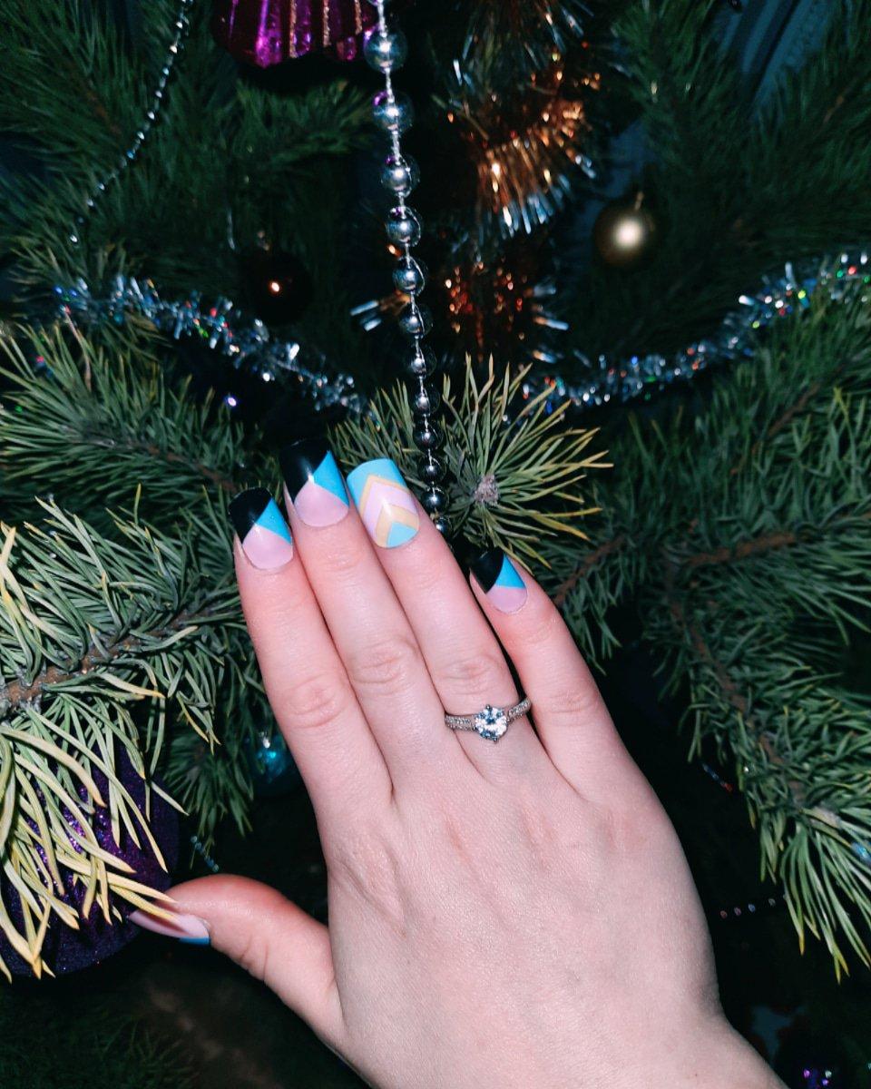 Кольцо на новый год.
