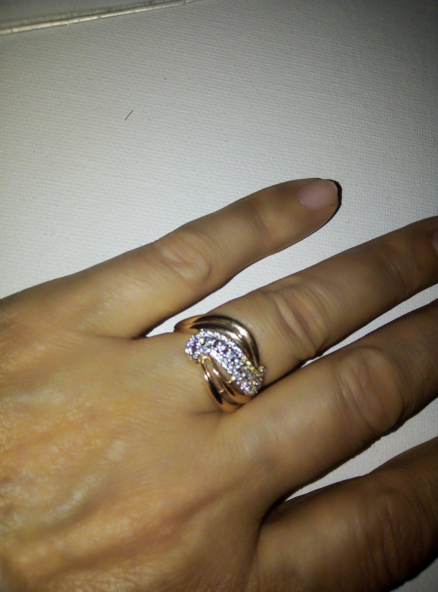 Кольцо на подарок подруге