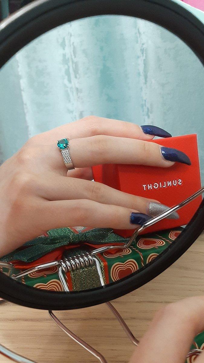 Невероятной красоты кольцо!🌌