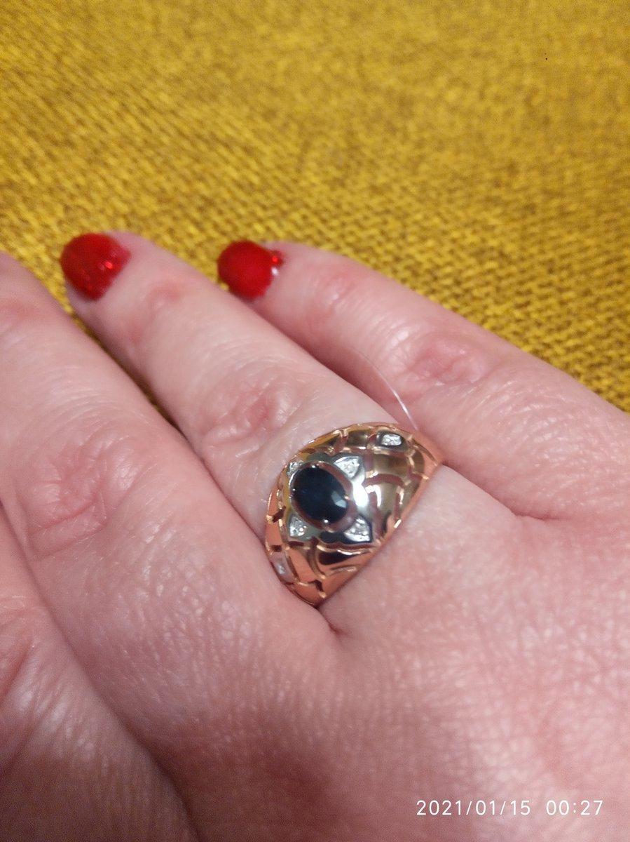 Золотое кольцо в восточном стиле