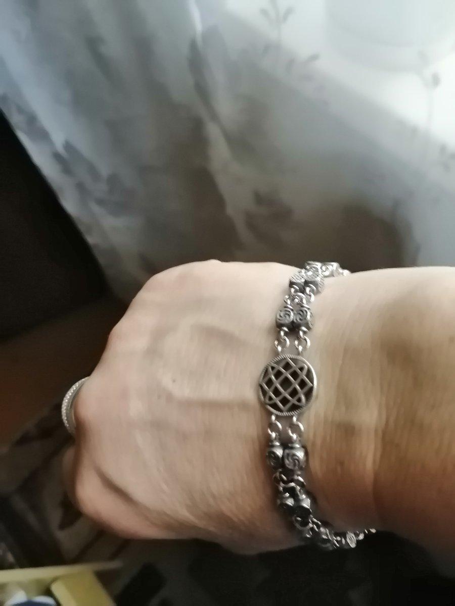 🤩🔥славянский серебряный браслет 🔥🤩