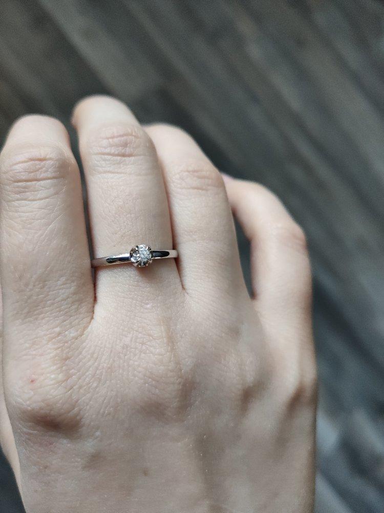 Золотое кольцо. бриллианты якутии