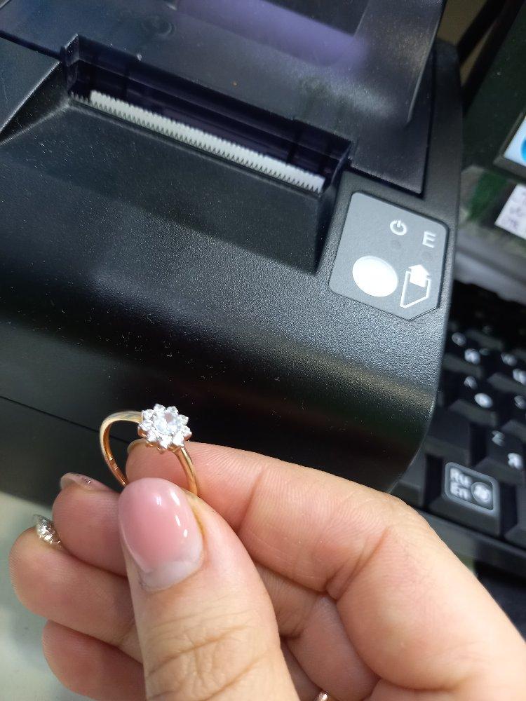 Очень понравилось кольцо и под неё набор купила серьги и кулон .