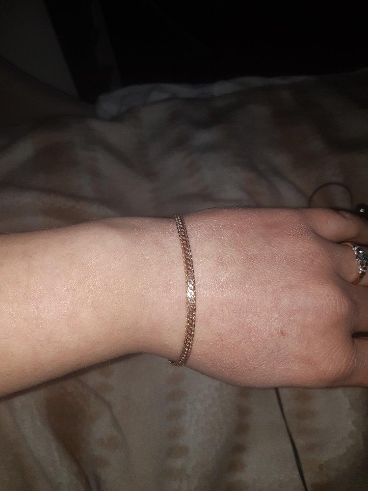 Прекрасный полновесный браслет