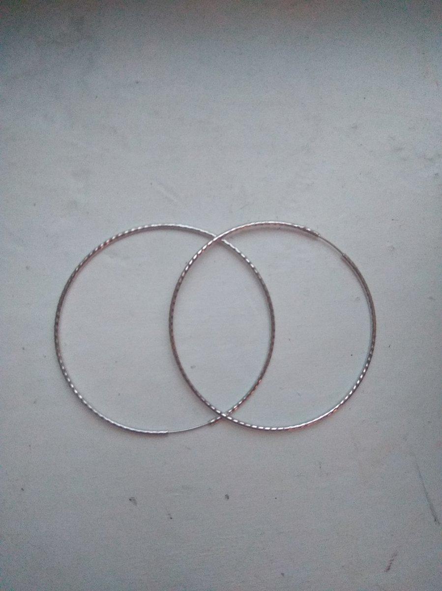 Хорошие серьги кольца
