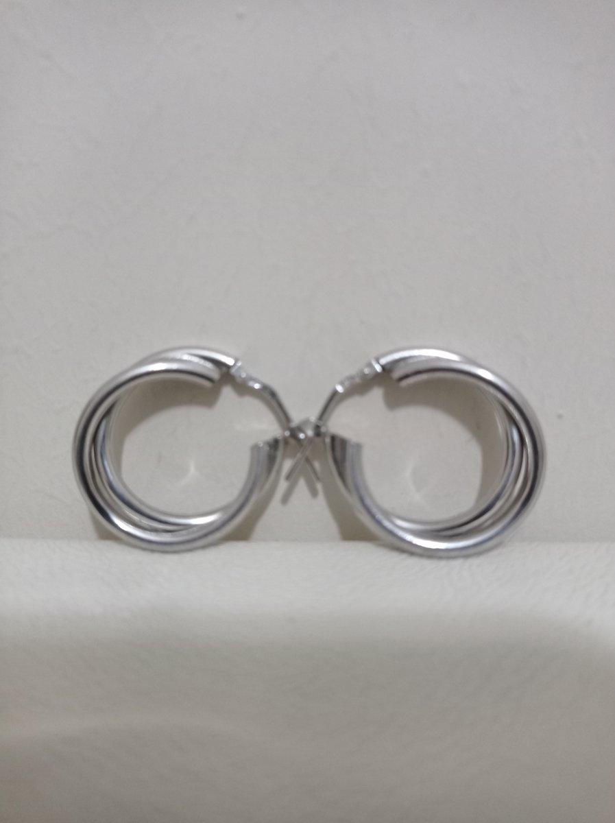 Элегантные серьги кольца