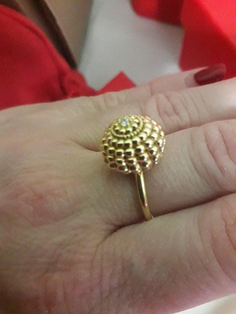 Кольцо шарик
