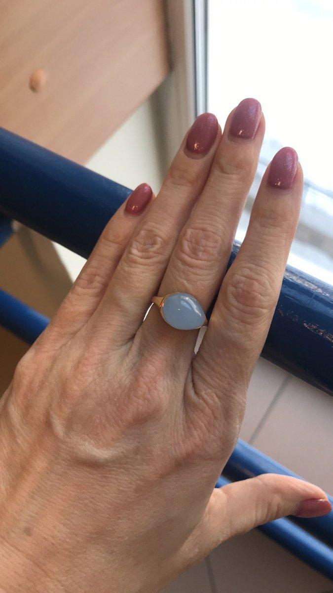 Наконец получилось купить кольцо! к купленным раньше серёжкам. ура!