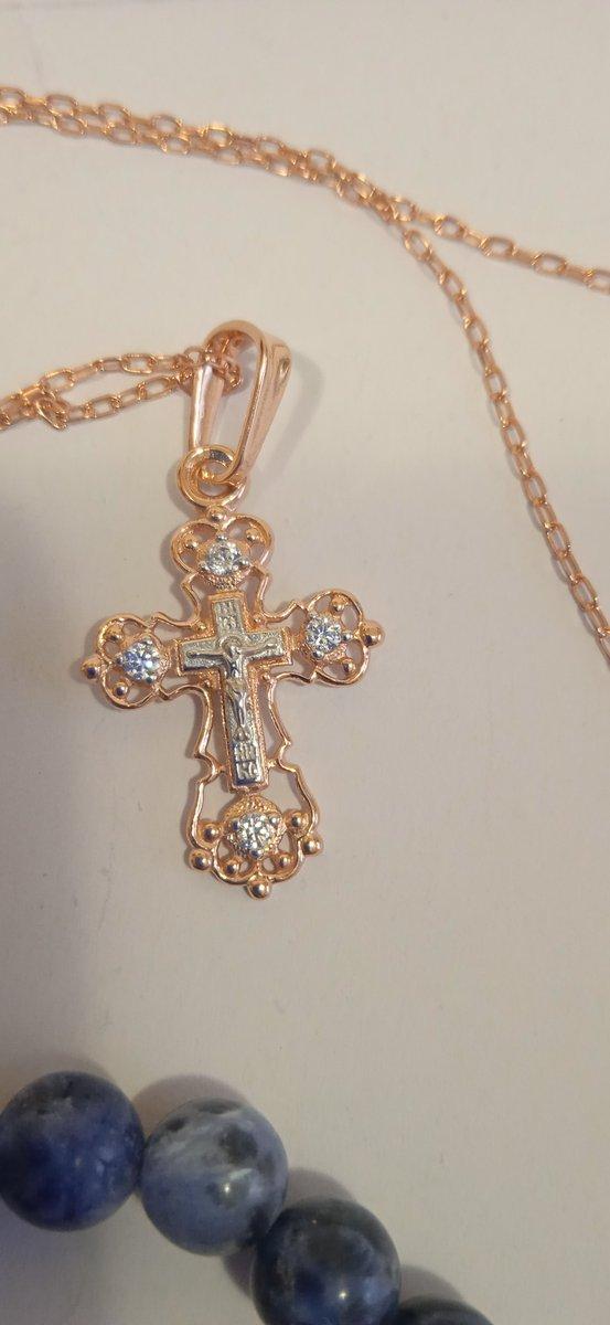 Нежный крестик