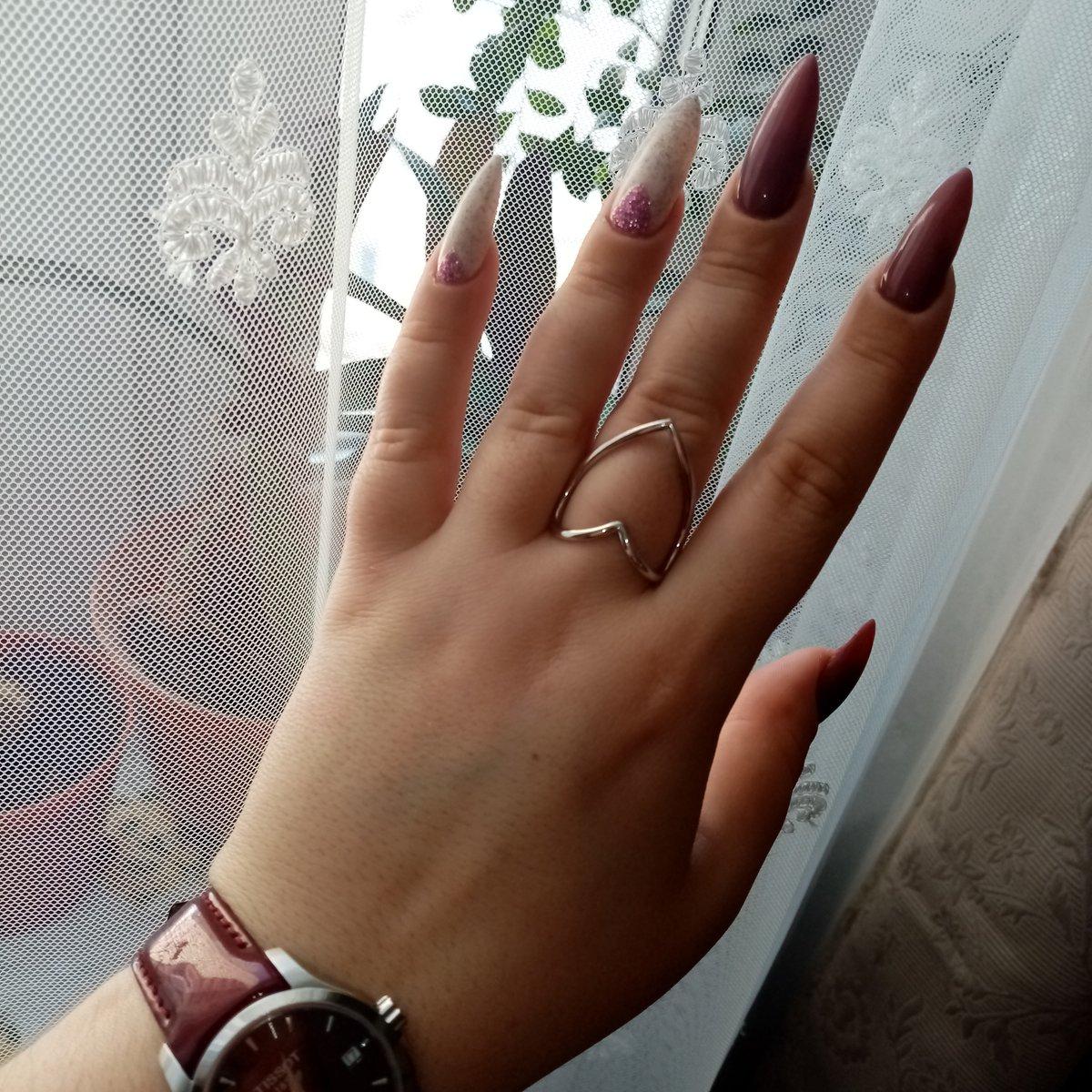 Стильное оригинальное кольцо