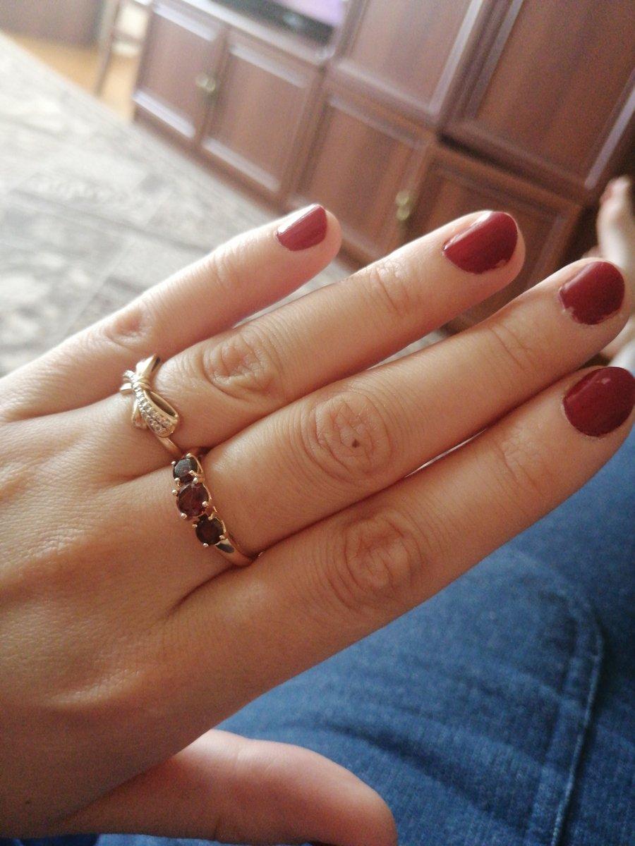 Гранатовое кольцо))