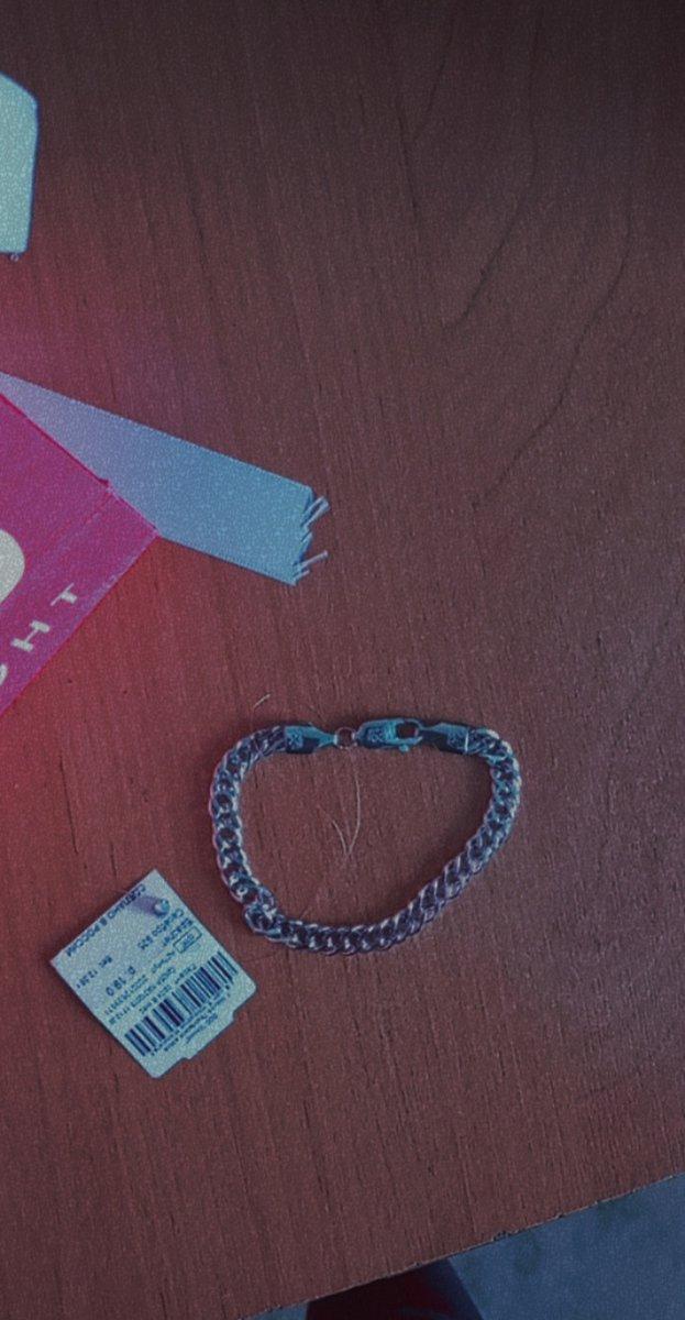 Серебряный браслет, 19 размер