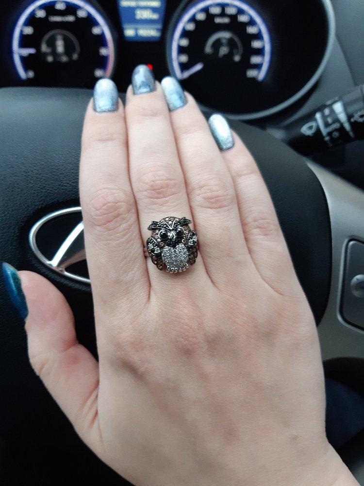 Кольцо с совой