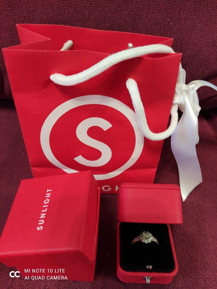 Купила кольцо с бриллиантами!