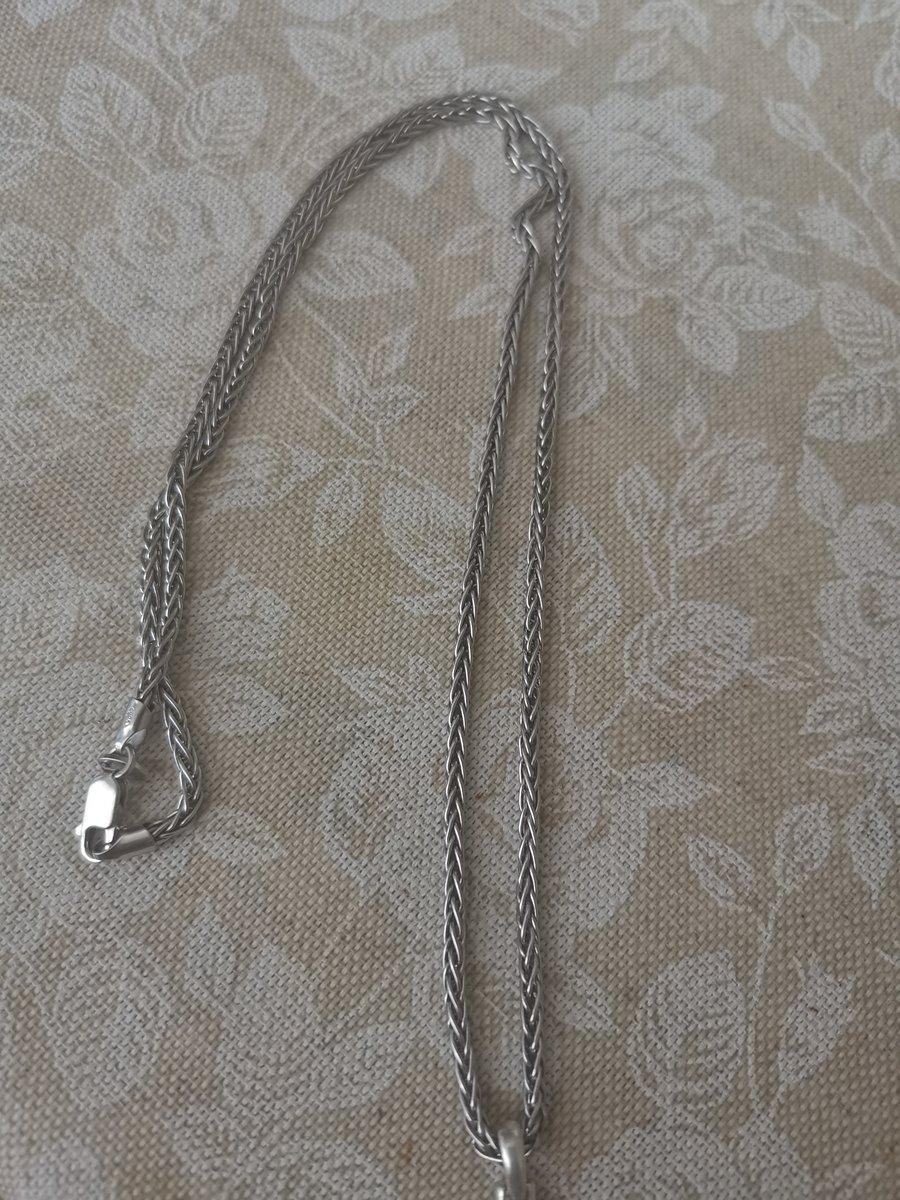 Серебряная цепь италия