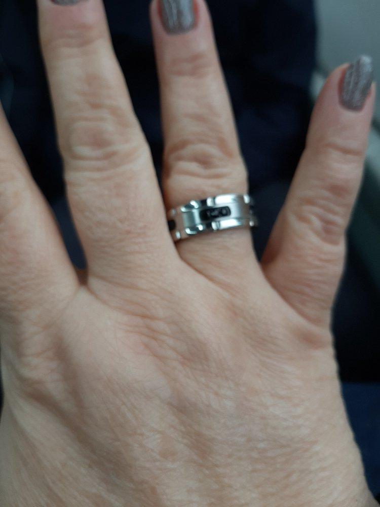Кольцо стальное. ну очень крутое!!!!
