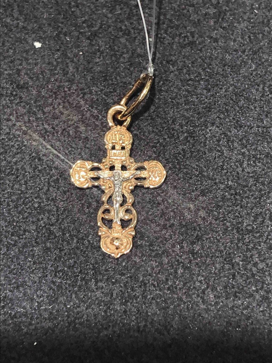Покупка крестика