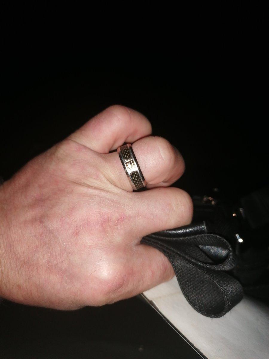 Позолоченое кольцо
