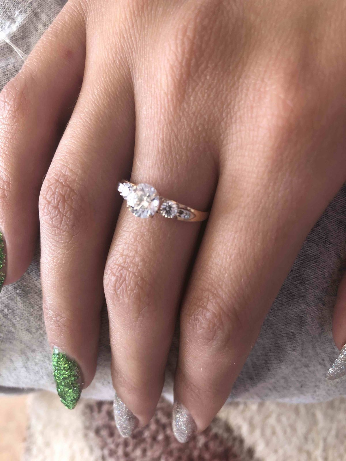 Спасибо sunlight за кольцо!