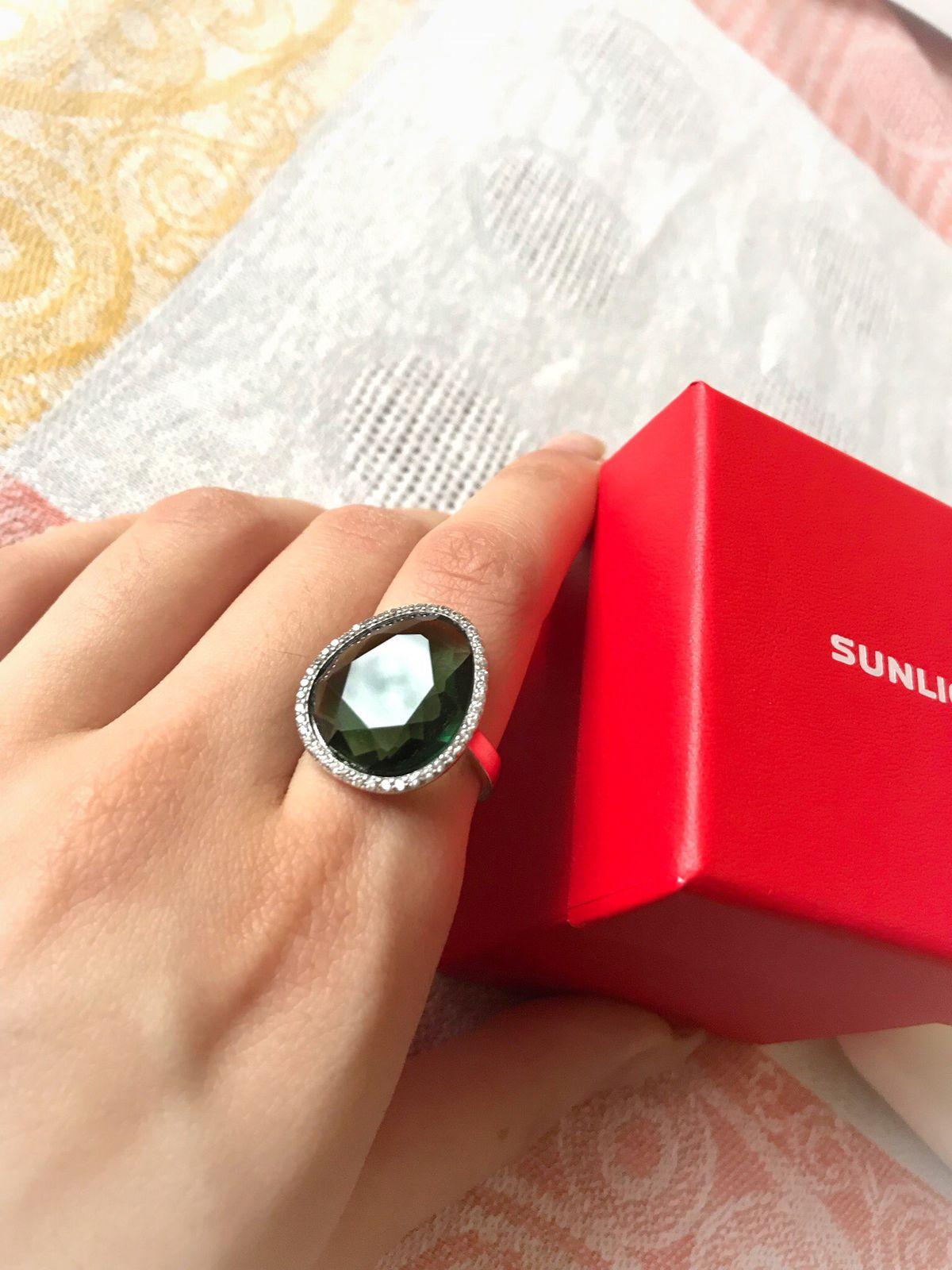 Очень красивое кольцо, подарок маме