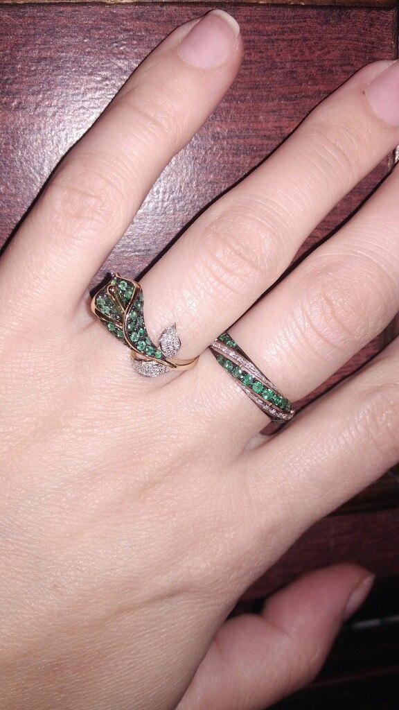 Моя слабость: изумруды и бриллианты