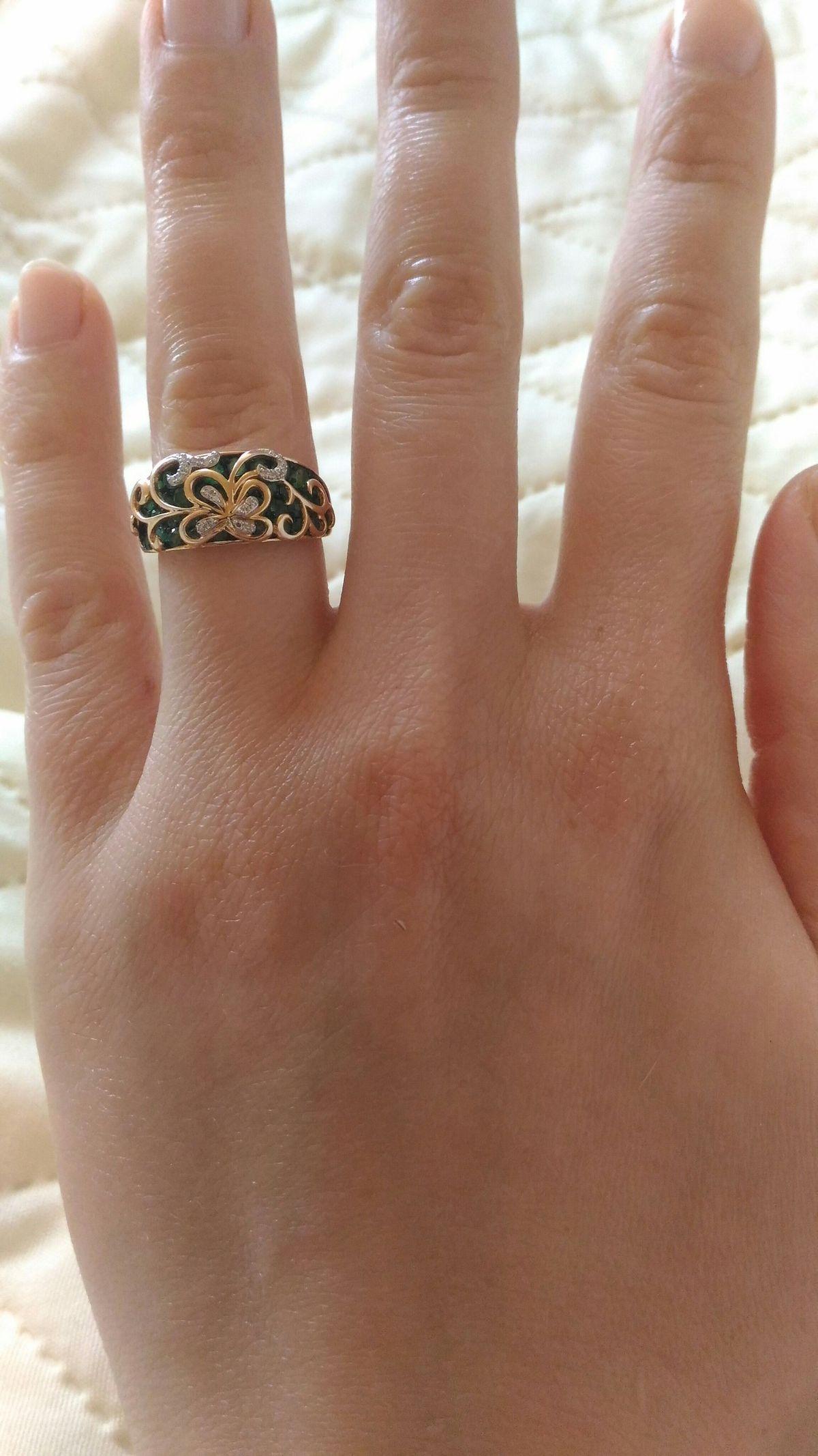 Самое красивое кольцо!