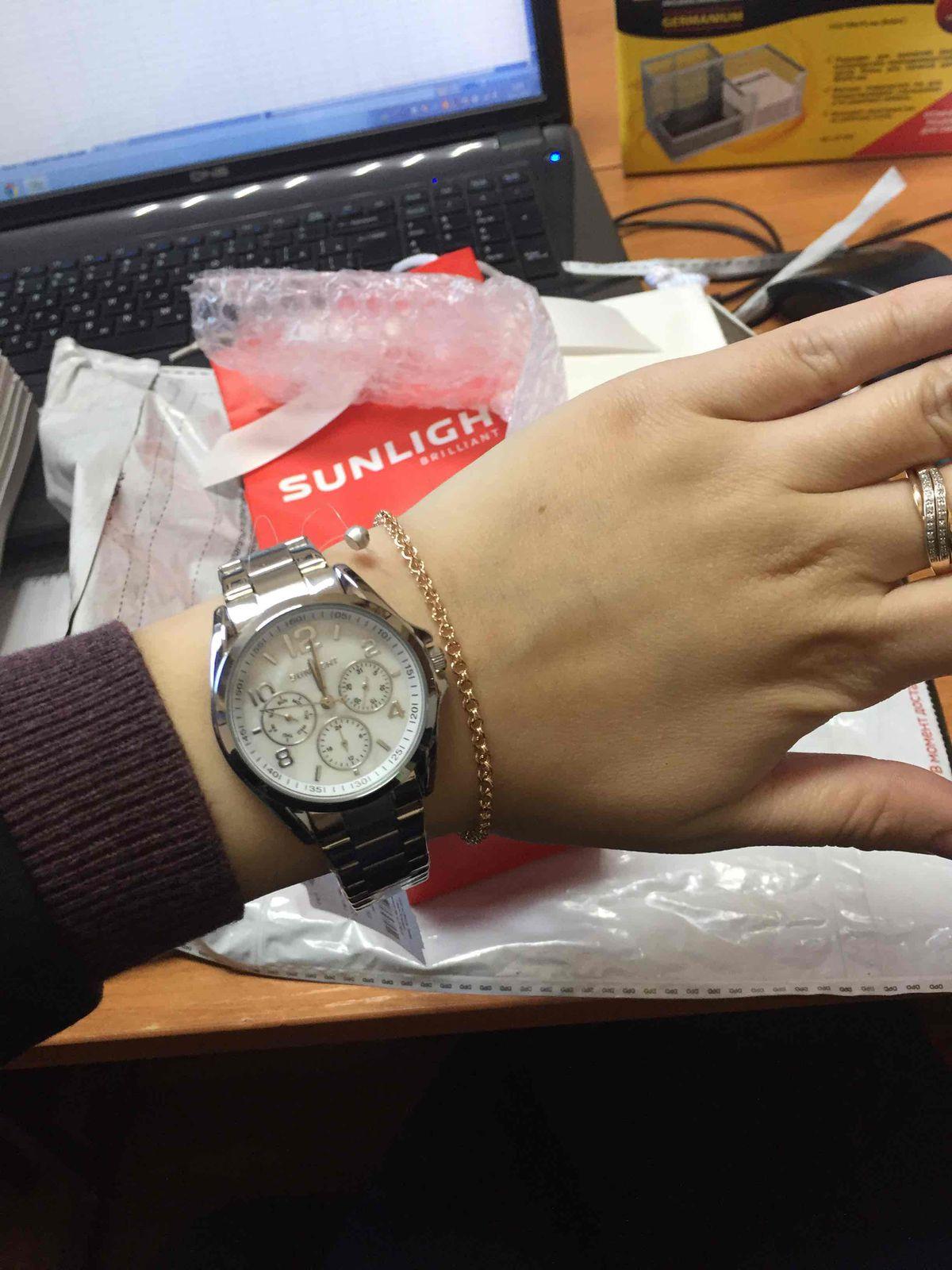 Давно хотела купить подобные часы, а тут и скидки начались😊 Спасибо SL!!!!