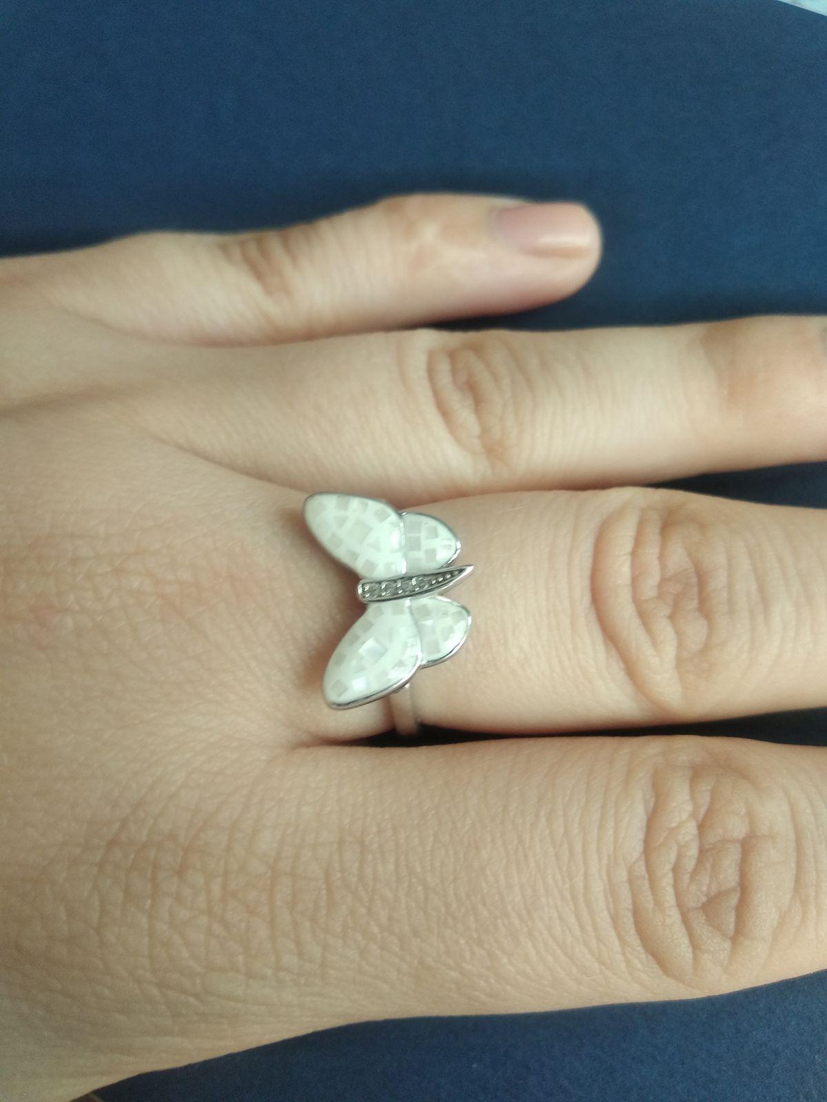 Колечко-бабочка