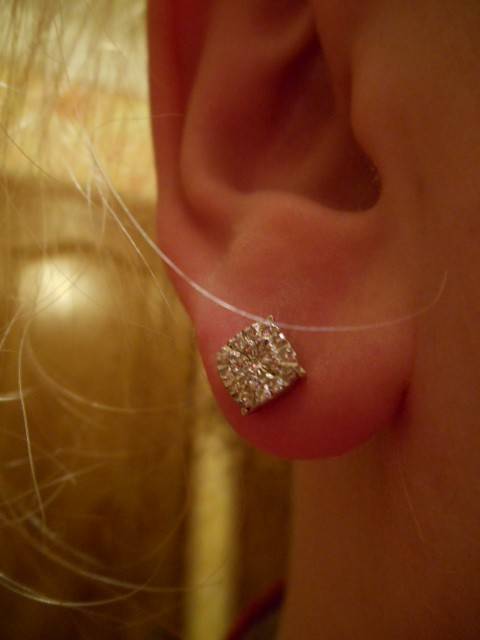 Подарочек с бриллиантами