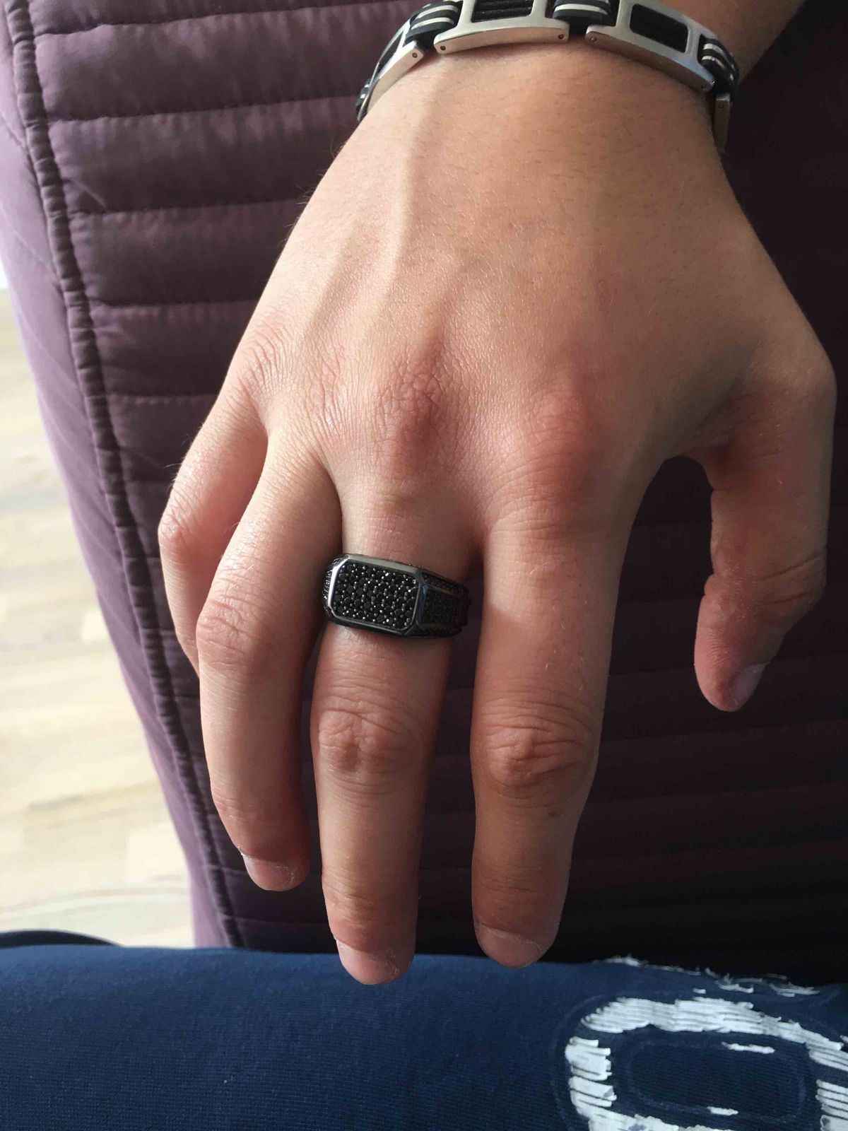 Брутальный перстень