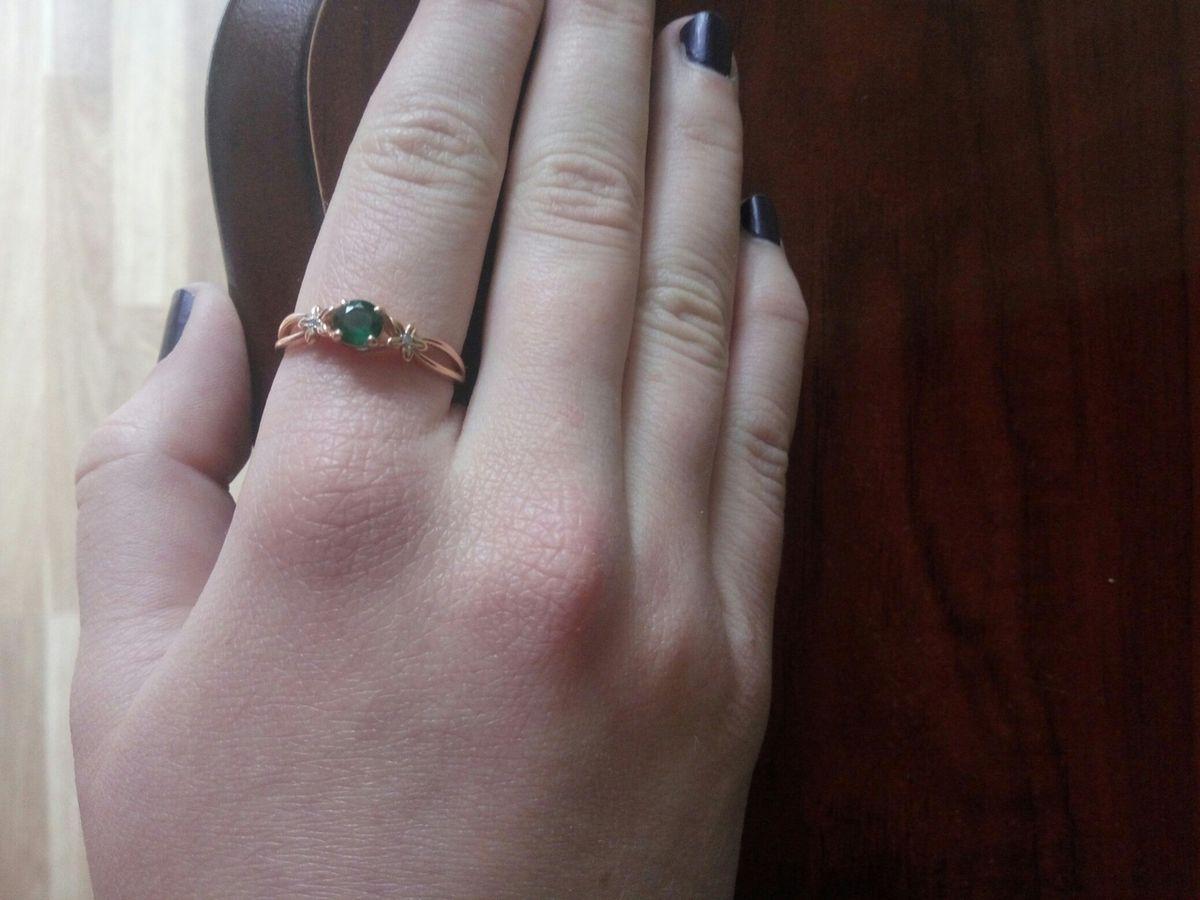 Спасибо за красивое кольцо!