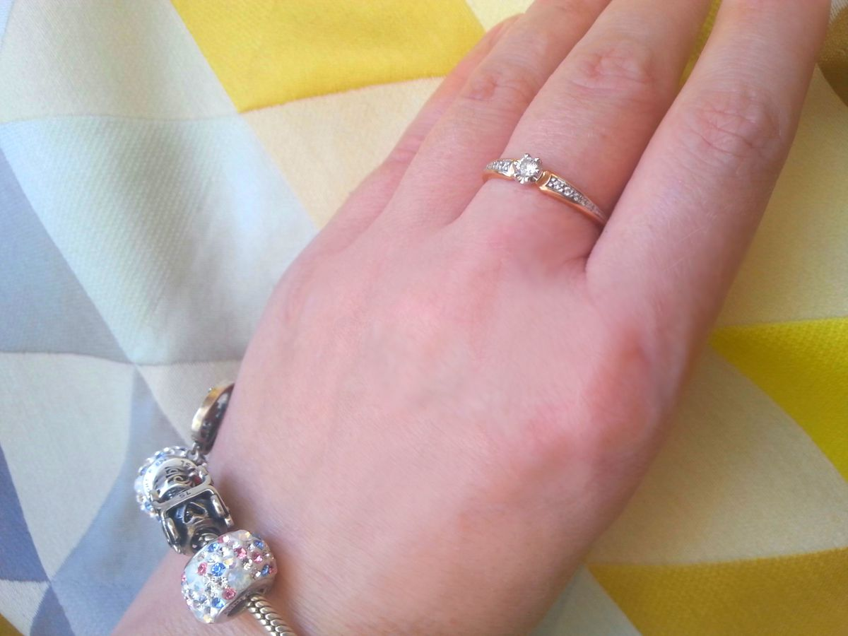 Нежное Королевское кольцо ♡