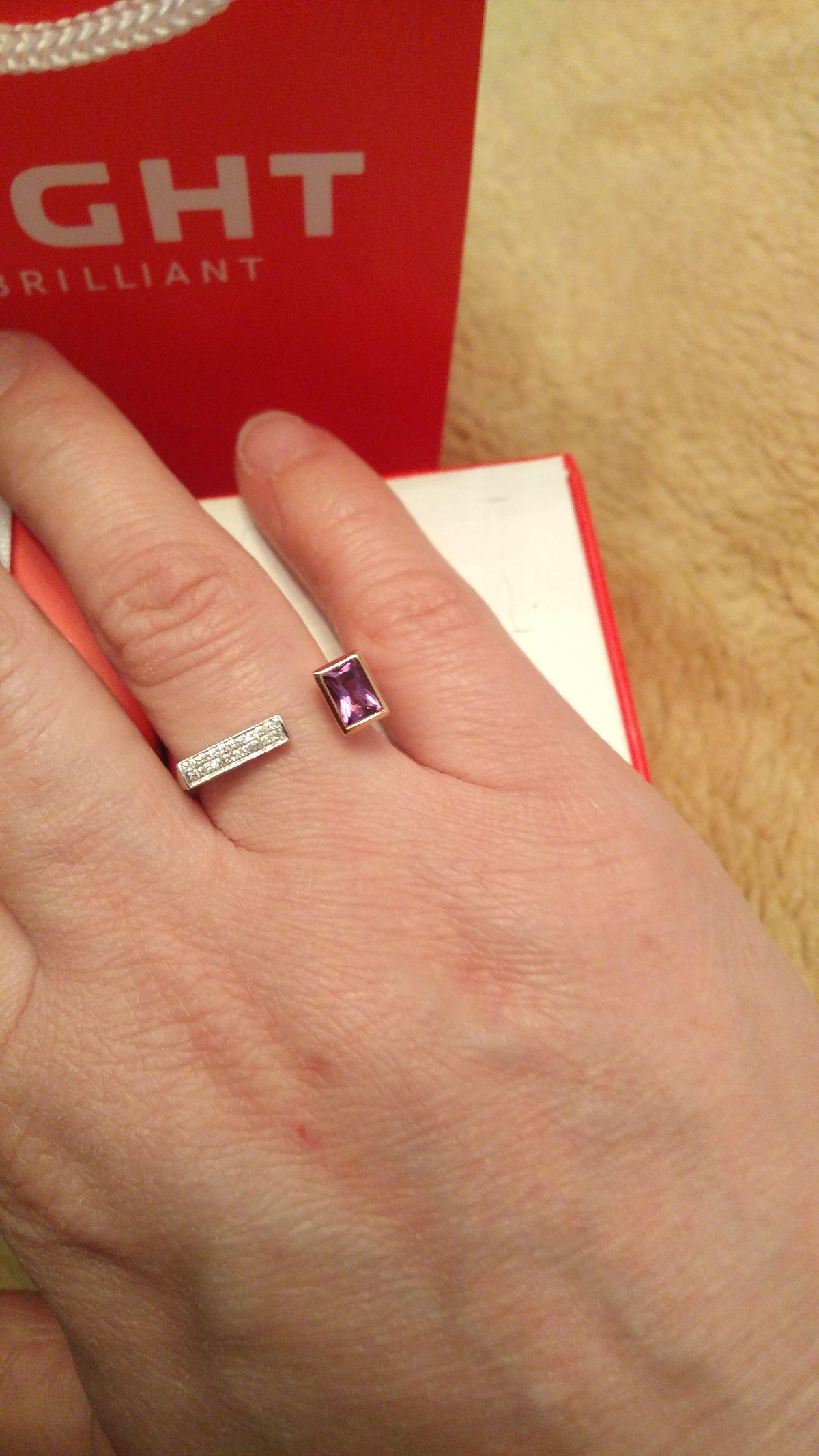 Кольцо необыкновенной красоты!