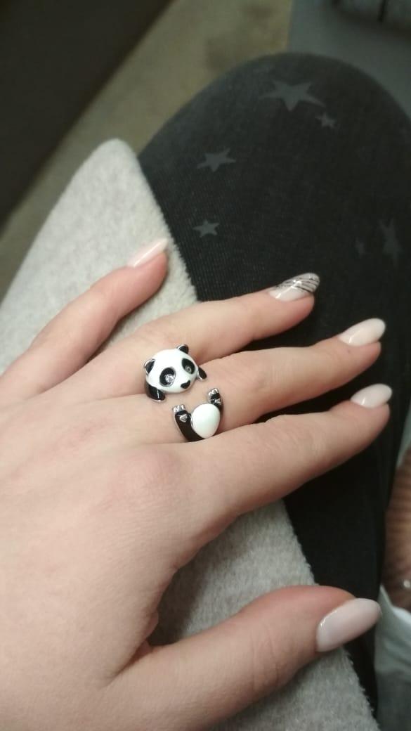Колечко панда очень нравится)))