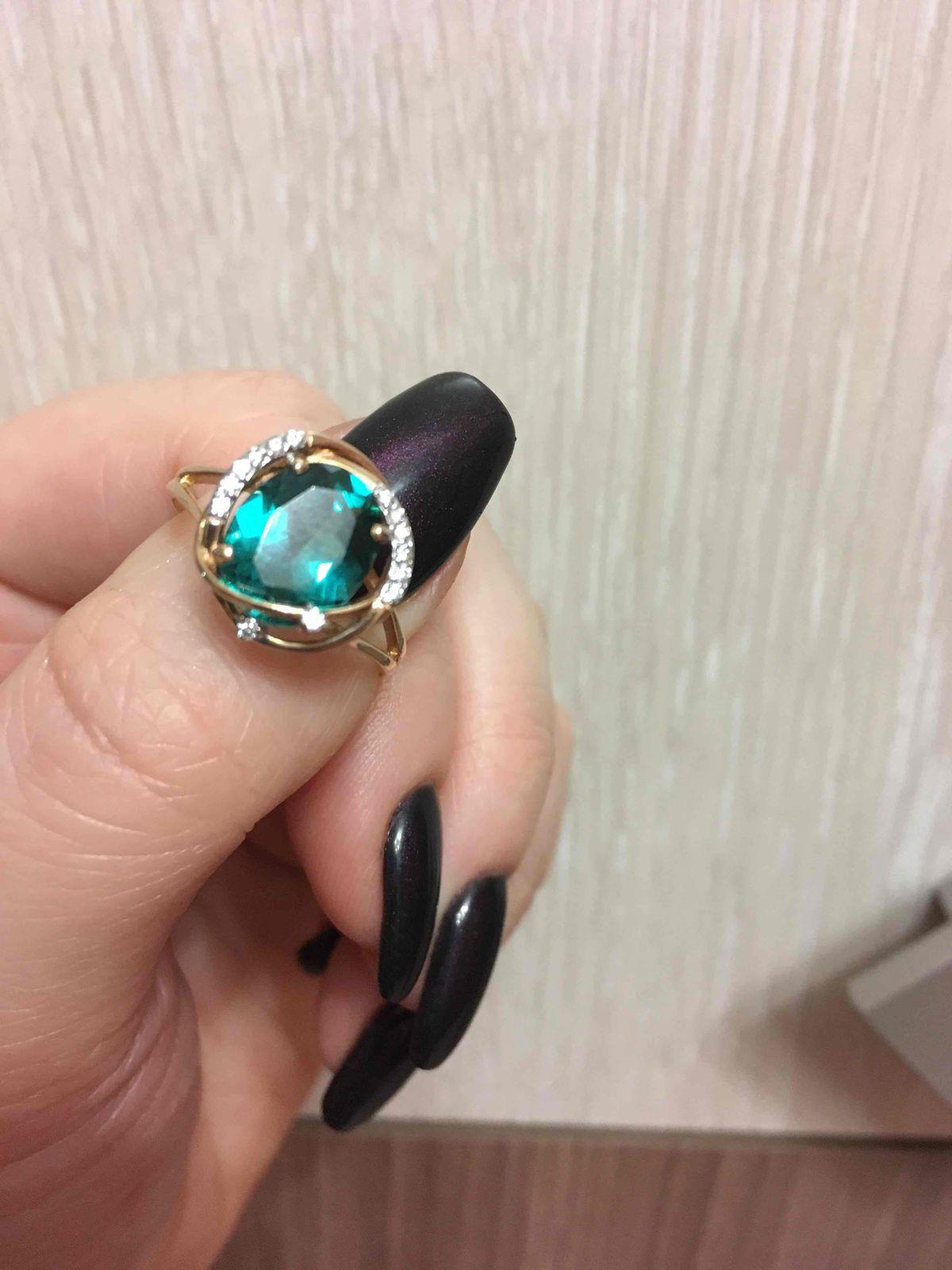 Самое шикарное кольцо в моей коллекции