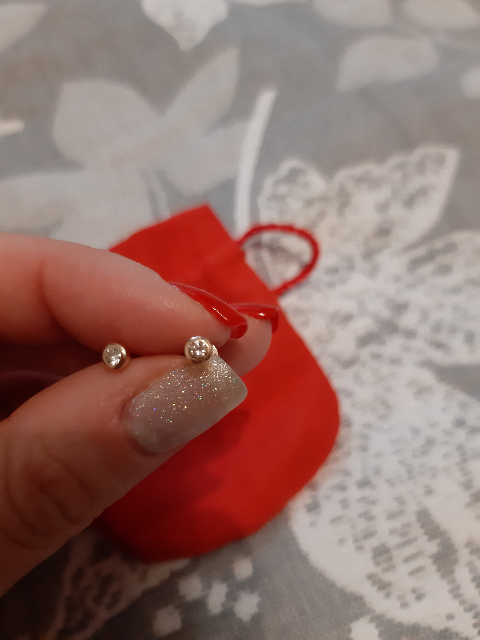 Гвоздики с бриллиантами!!!