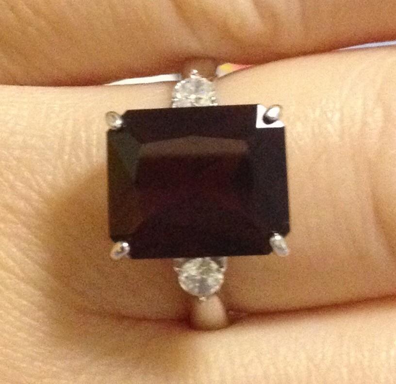 Гранатовое кольцо!