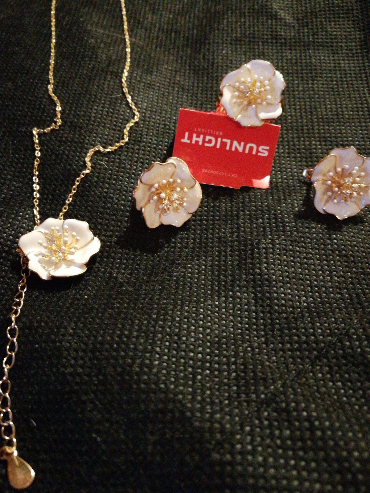 Серьги -цветв
