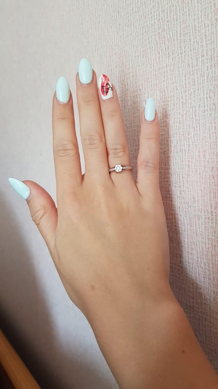 Потрясающее, помолвочное кольцо!!