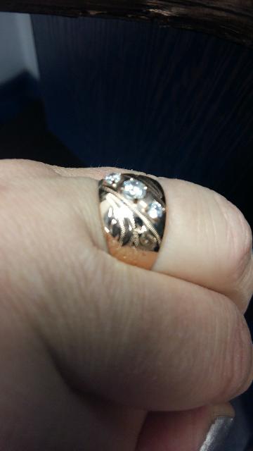 Кольцо с феонитами
