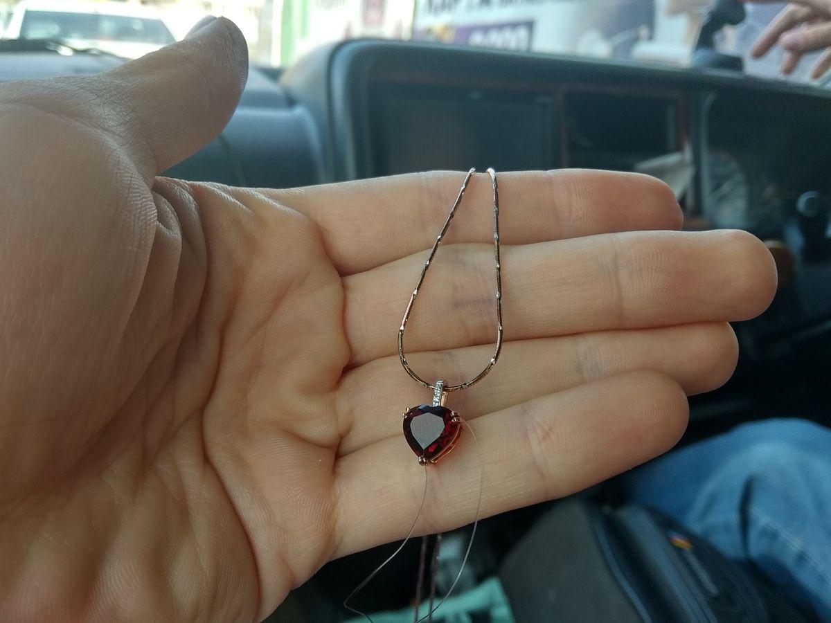Гранат и бриллианты