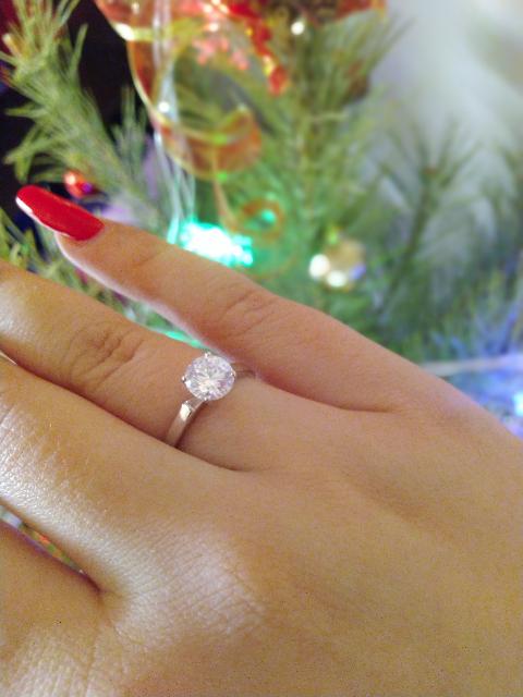 Чудесное кольцо из серебра