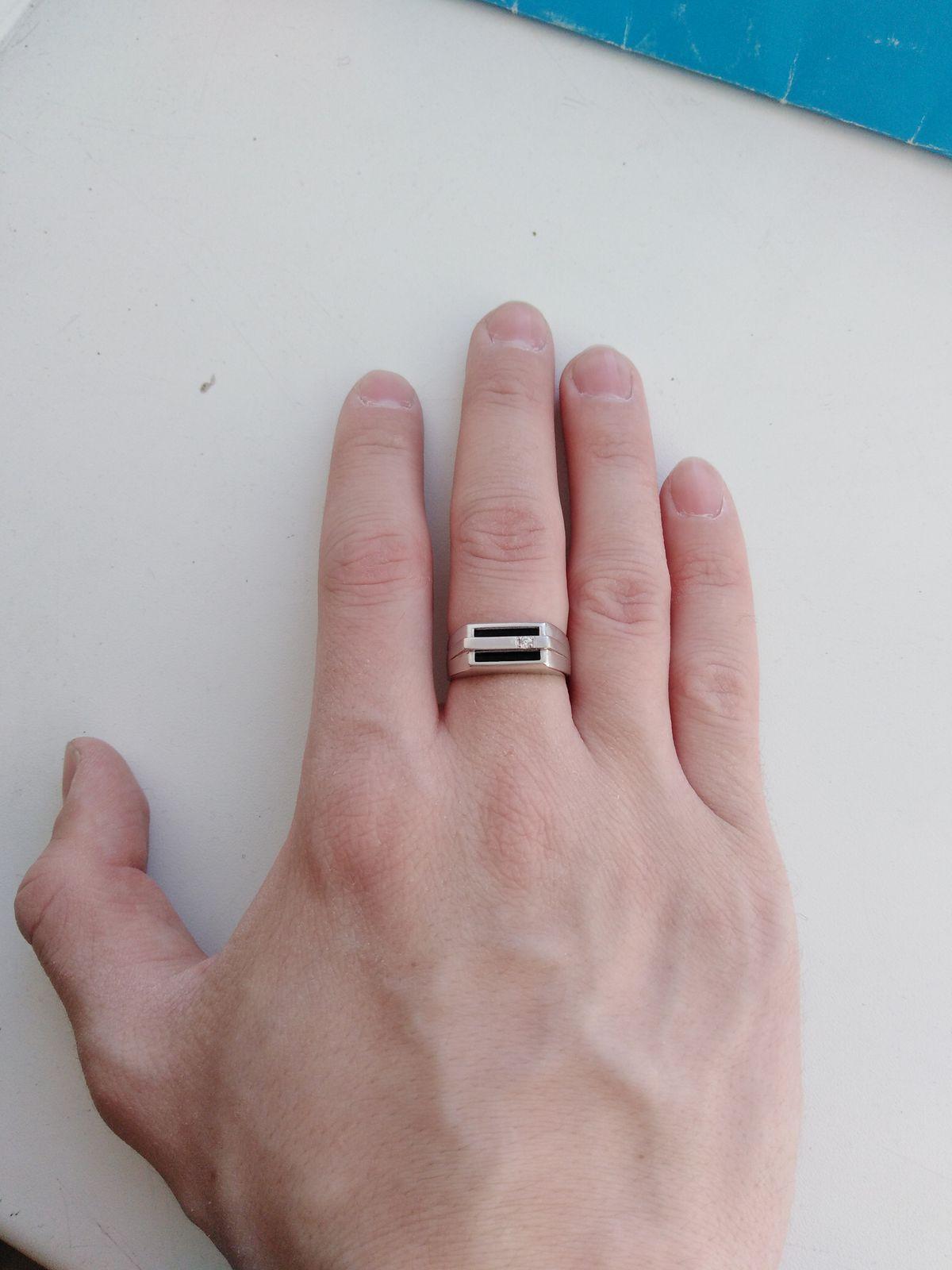 Перстень очень стильный