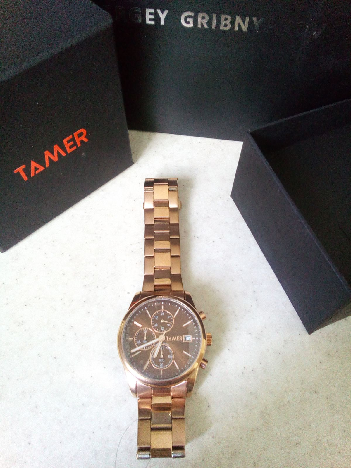 Часы от Sunlight фирмы tamer
