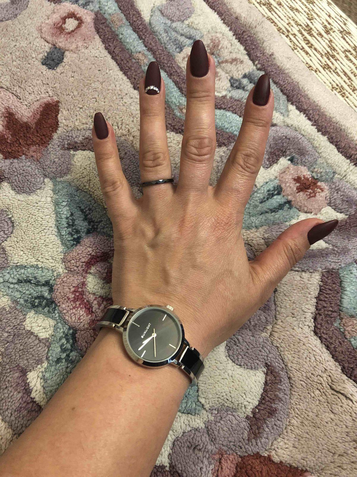 Керамическое кольцо с гранями