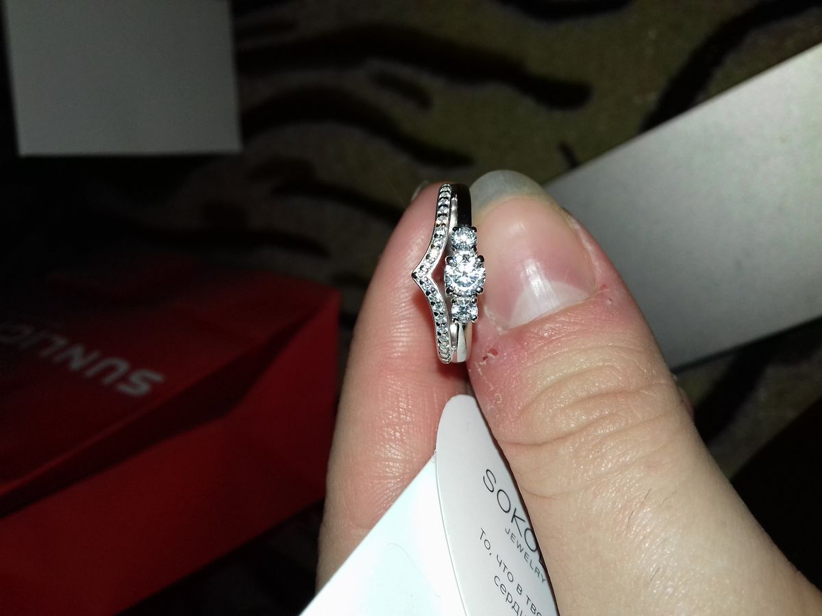 Серебрянное кольцо)