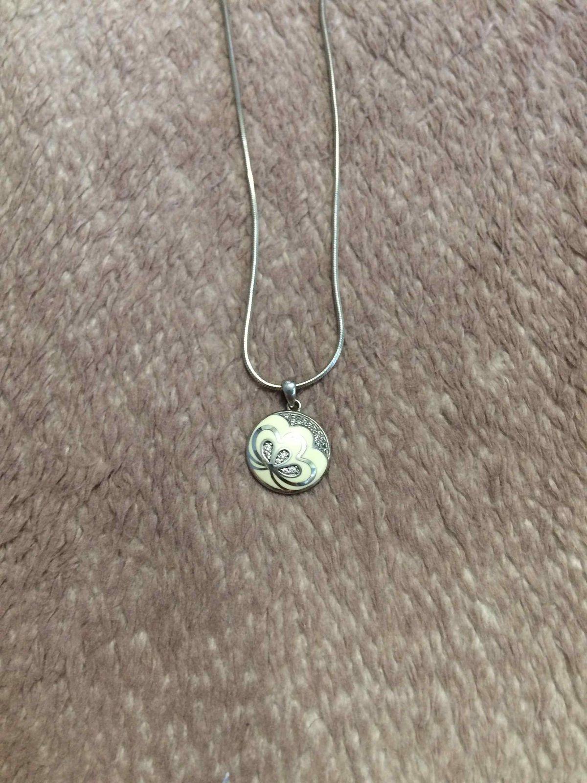 Серебрянный кулон